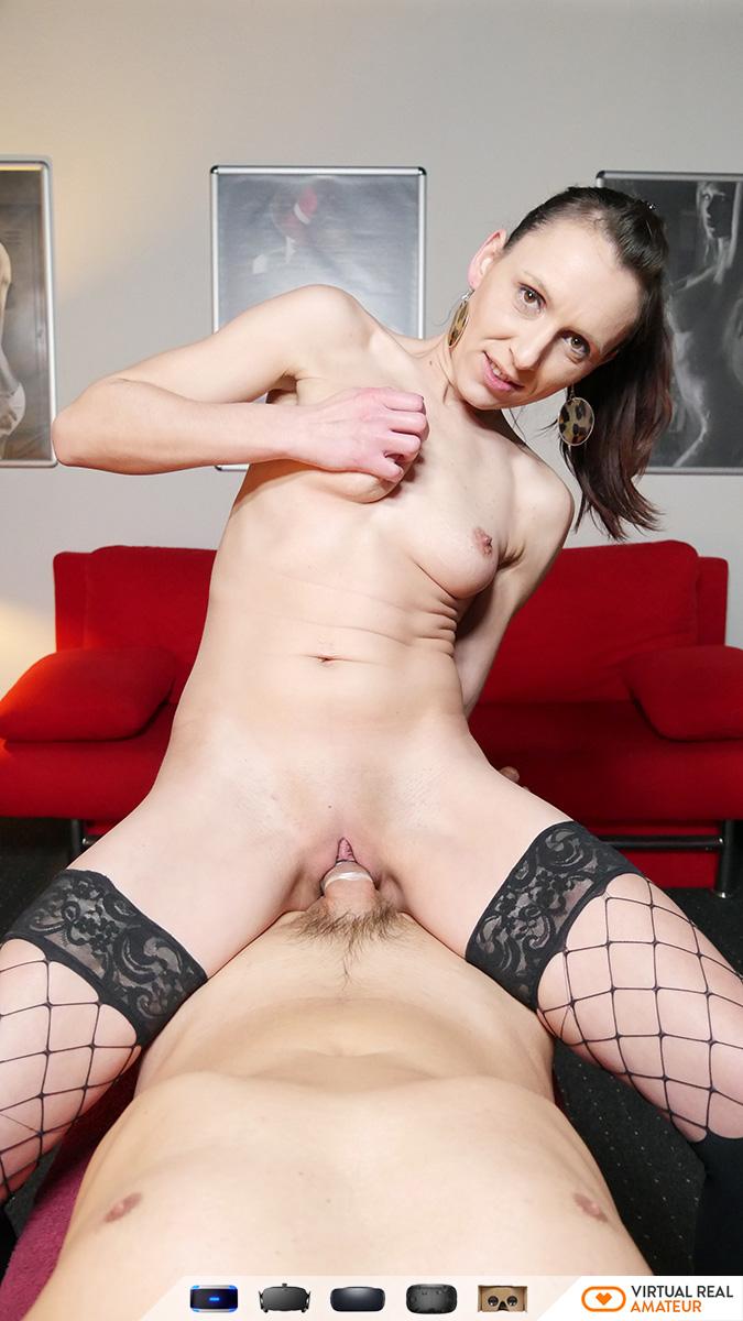 Brunette extreme sex blowjob