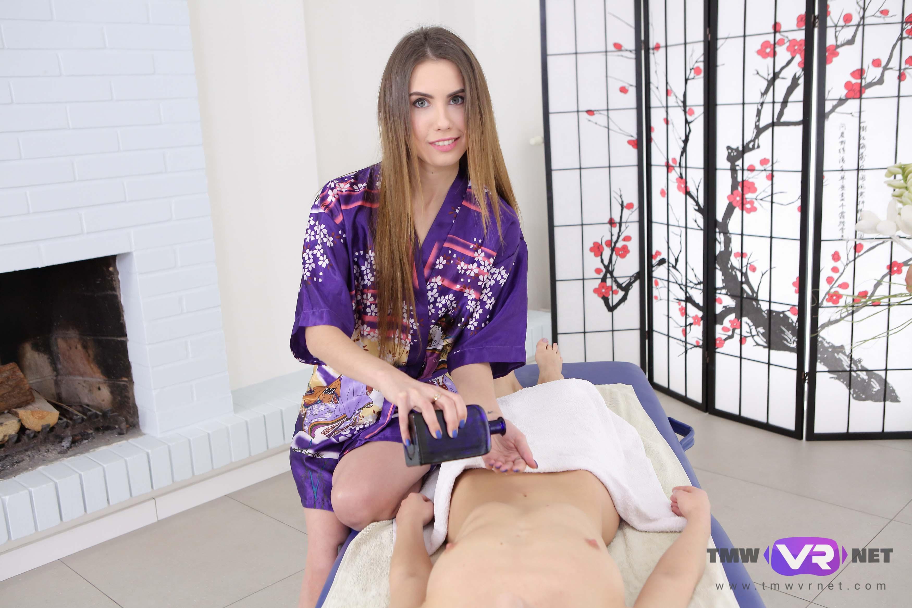 Japanese style massage VR Porn