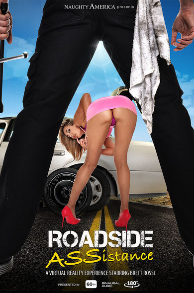 Brett Rossi In Roadside ASSistance VR Porn
