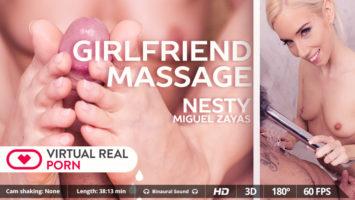 Girlfriend massage