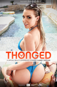 Aubrey Sinclair in Thonged