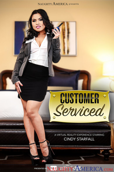 Cindy Starfall in Customer Serviced