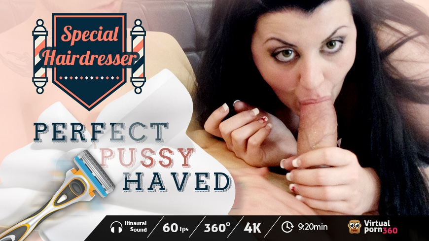 Special Hairdresser: Perfect Pussy Shaved