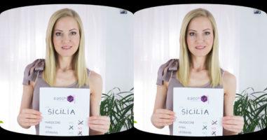 Blond Sicilia in Casting