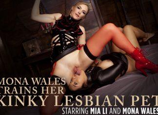 Mona Wales Trains Her Kinky Lesbian Pet