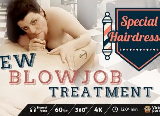 Special Hairdresser: New Blowjob Treatment