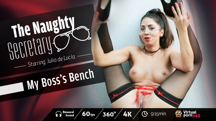 The Naughty Secretary: My Boss's Bench