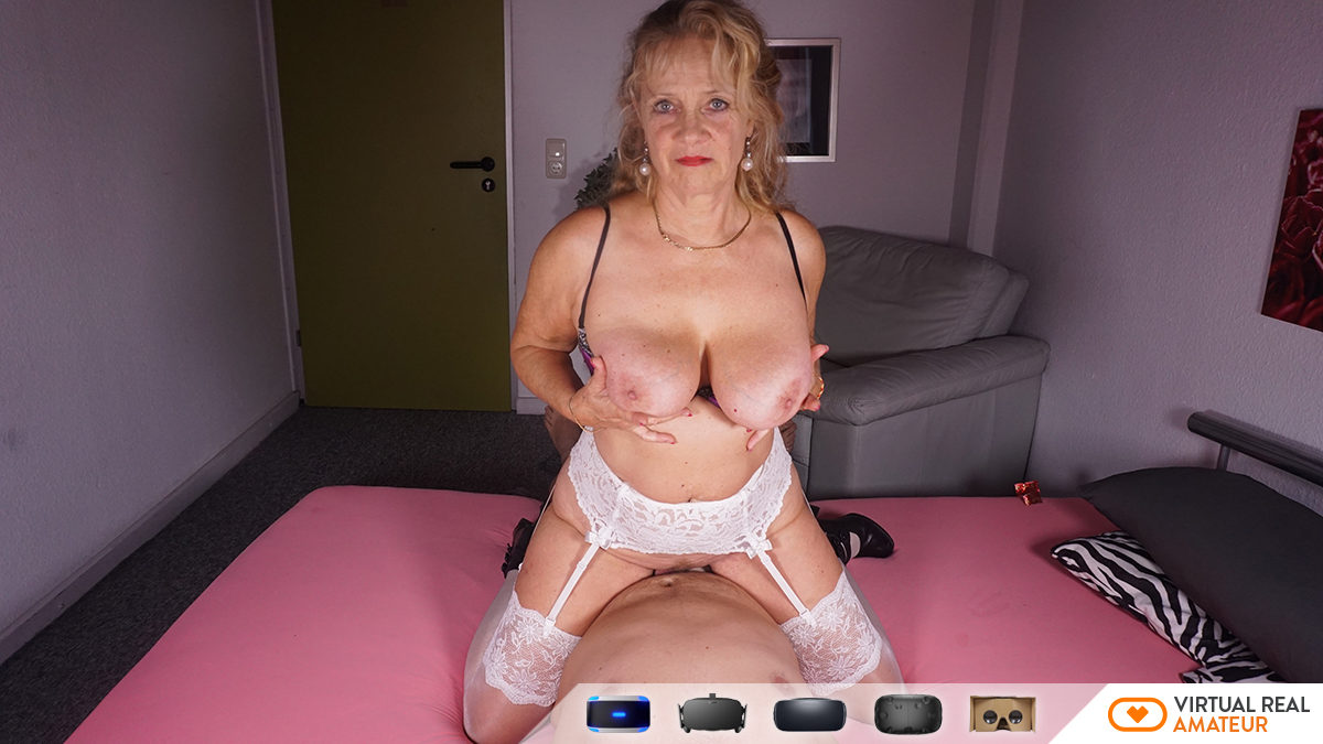 Old Lady Amateur Sex  Virtualrealamateur Virtual Reality -8653