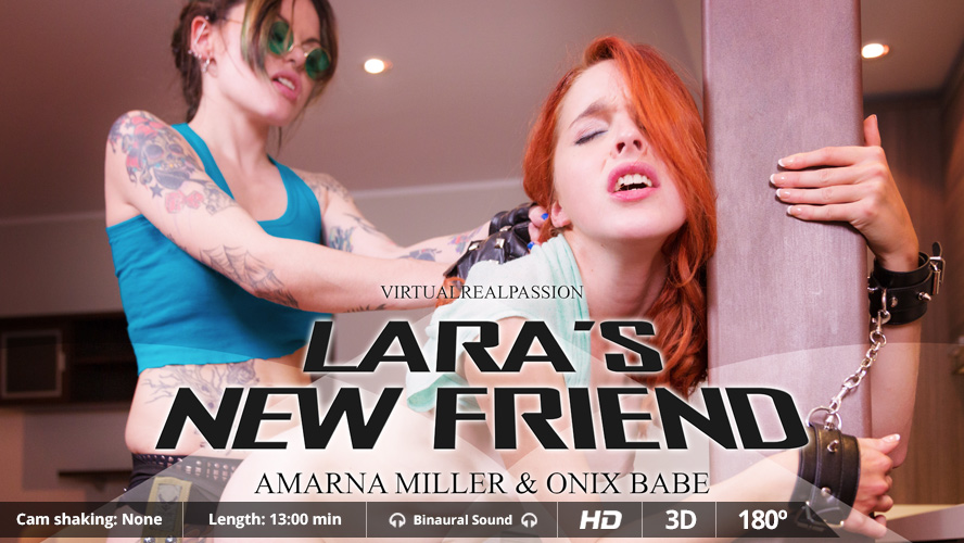 Lara's New Friend