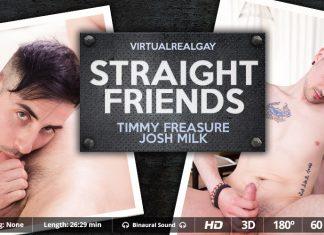 Straight friends