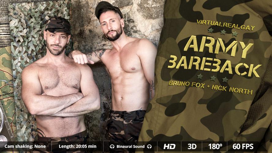 Army bareback