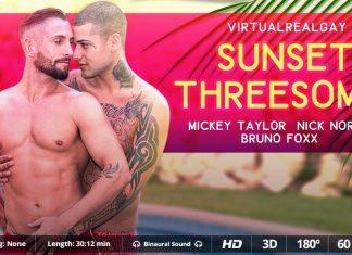 Sunset threesome