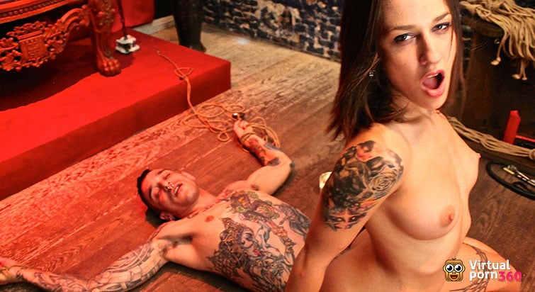 The Dungeon: BDSM Blowjob