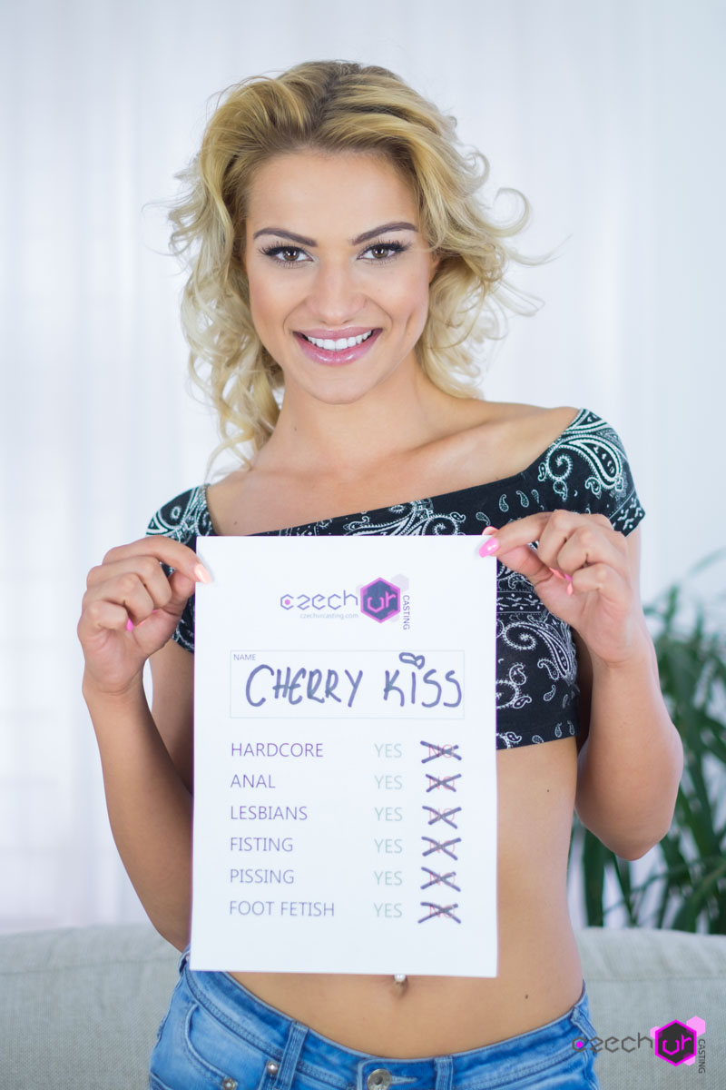Cherry Kiss in Casting