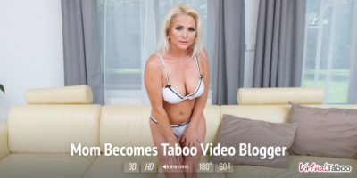 Mom Becomes Taboo Video Blogger