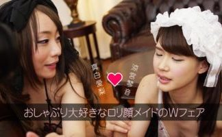 Let's Enjoy Two Japanese Maids