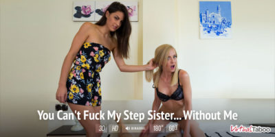 You Can't Fuck My Step Sister.. Without Me