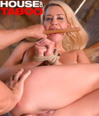 Ropes, Whip & Ass Fucking: Her Tight Anus Needs A Hard-on