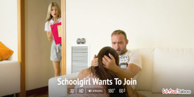 Schoolgirl Wants To Join