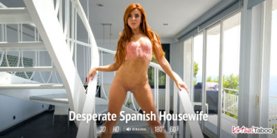 Desperate Spanish Housewife