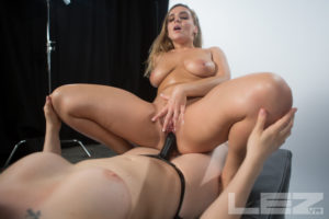 Chanel Preston Pussy Licking and Finger Banging POV