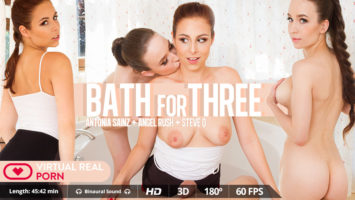 Bath for three