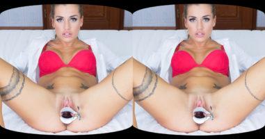 Wide Spread Pussy of Silvia Dellai