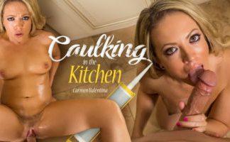 Caulking in the Kitchen