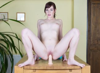 Elena Penetrating Her Two Holes