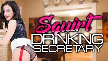 Squirt Drinking Secretary starring Lola Ver