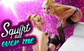 Squirt All Over Me starring Victoria Puppy and Mandy Paradise