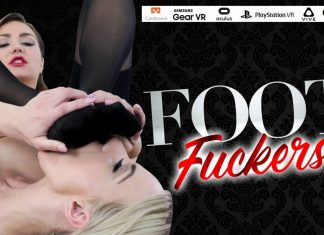 Foot Fuckers starring Nathalie Cherie and Victoria Puppy
