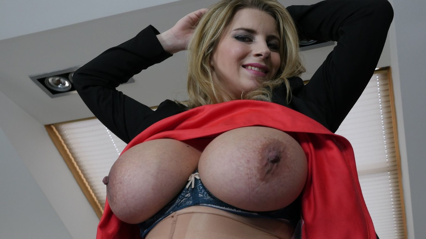 Pregnant Secretary In Pantyhose