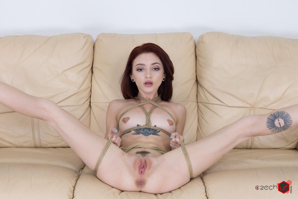 Slave Girl Ready to Serve