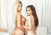 """Brooke Haze, Sophia Lux in """"Yoga Sluts"""""""