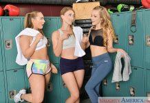AJ Applegate, Karla Kush, Riley Reyes in