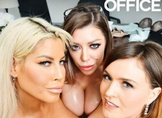 "Bridgette B., Karma Rx, Krissy Lynn in ""The Big Tits Office"""