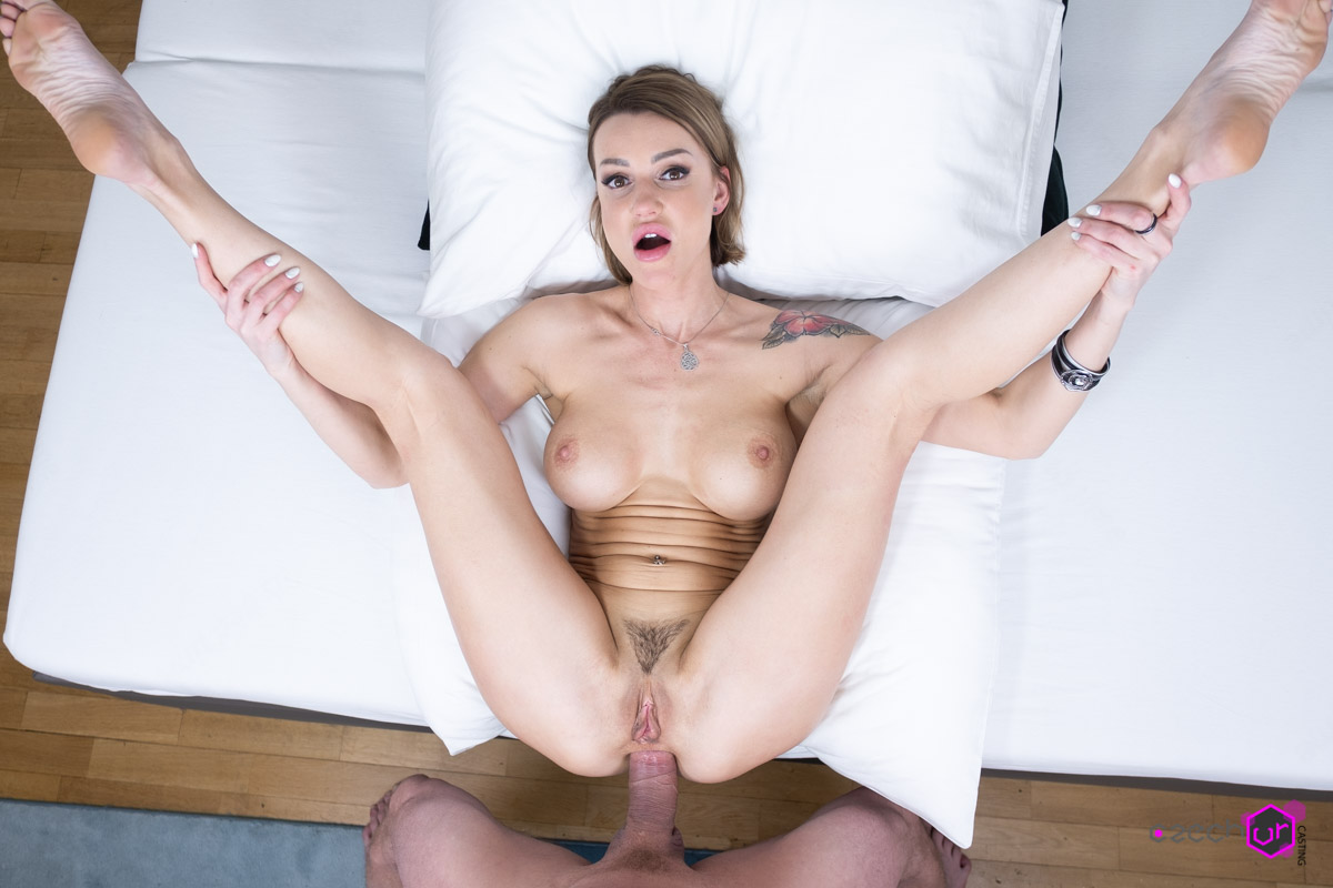 Sexy Russian's Anal Casting