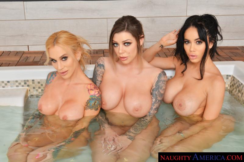 """Karma Rx, Sarah Jessie, Victoria June in """"Big Tits Spa"""""""