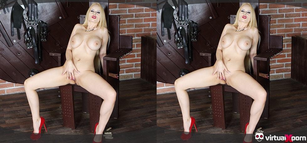 busty blonde Angel