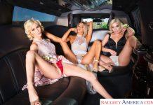 Allie Nicole , Emma Hix , Kiara Cole in