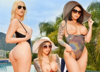 "Ivy LeBelle , Karma Rx , Vanessa Cage in ""Summer Vacation"""