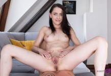 Huge Load for Petite Babe