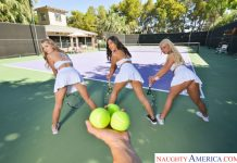Kendra Spade, Serena Avary, Hannah Hawthorne in