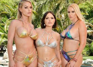 "Krissy Lynn, Rachael Cavalli, Vanessa Cage in ""Summer Vacation 12"""