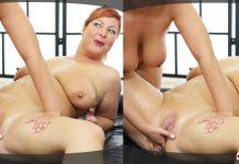 Slippery BBW massage