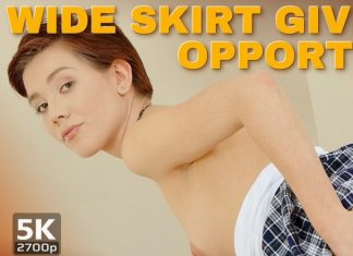 Wide skirt gives wide opportunities