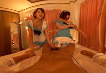 Threesome Creampie Maids