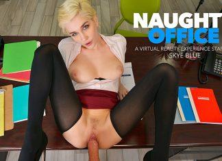 """Skye Blue in """"Naughty Office"""""""