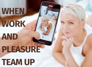 When work and pleasure team up